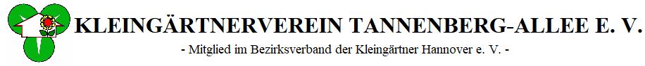 KGV TANNENBERG-ALLEE e. V.
